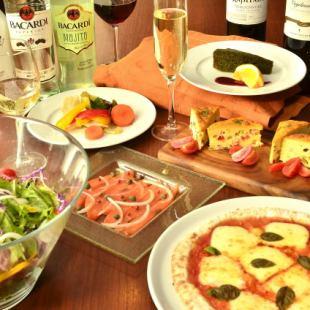 飲用2小時無限◆易於當然<所有6菜> |歡送歡迎會後黨黨