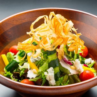 Crisp healthy salad (servings 2-3)