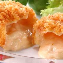 小樽螃蟹奶油炸丸子