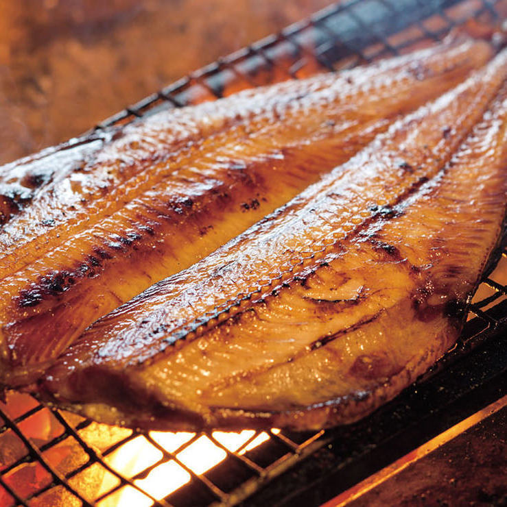 【From Hokkaido shop Sato fishery】 Large toro striped hockey grill