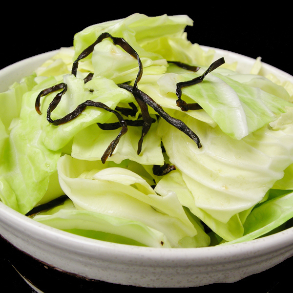 Salt daled cabbage