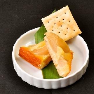 かぼちゃタルト ~バニラアイス添え~/白桃タルト ~バニラアイス添え~