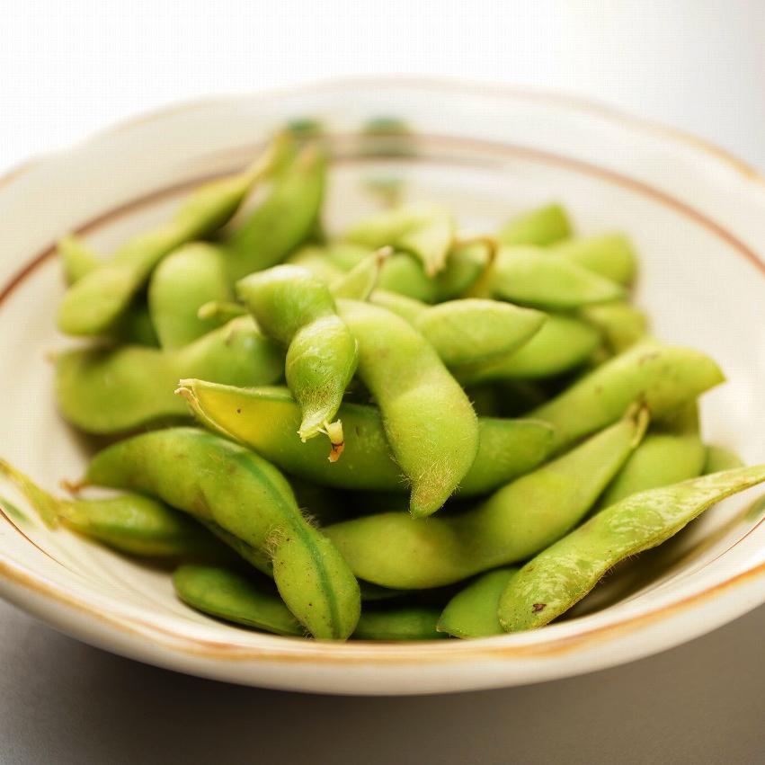 塩茹で枝豆