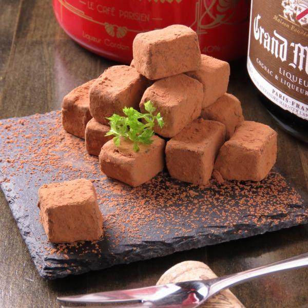 自家製チョコレート