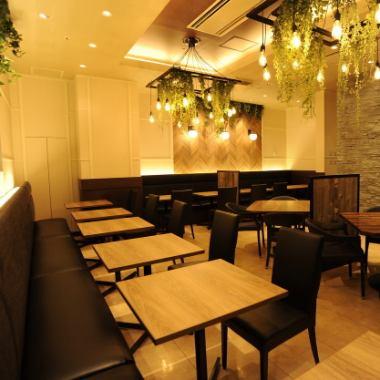 Enjoy full-fledged Asian cuisine in a stylish Asian space