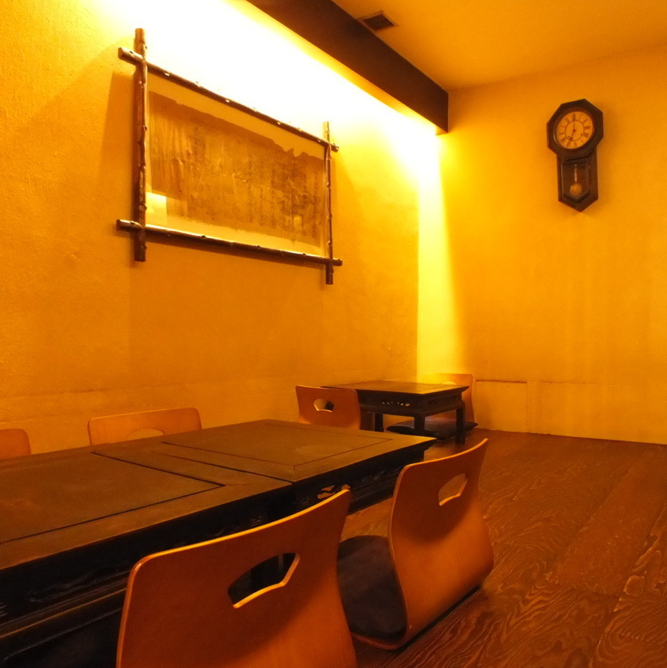 An Osaki private room where you can spend your legs stretched.It is OK for up to 8 people!