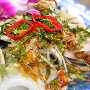 Binquin (steamed spring roll of Vietnam)