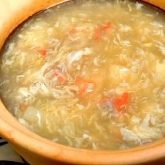 雪松和芦笋汤/泰式虾用汤姆荫公汤