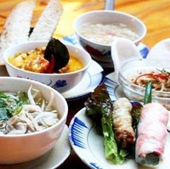 """【11:30~17:00限定】全部5項◆""""午餐套餐""""2500日元*沙漠飲料維京♪"""