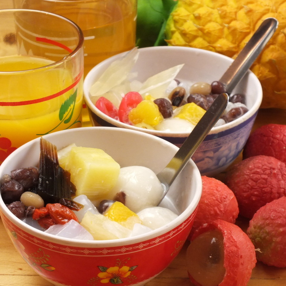 Vietnamese sweets · Chees & drinks Buffet