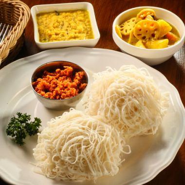 【本場スリランカの味★】シェフが腕を振るうスリランカ料理をぜひご賞味ください♪