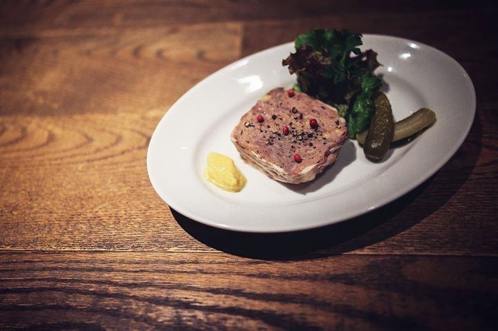 Pate in duck and venison