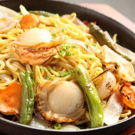 【Kitami specialty】 Salt-fried noodles