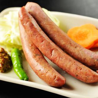 北海道知床产虾夷鹿/香肠