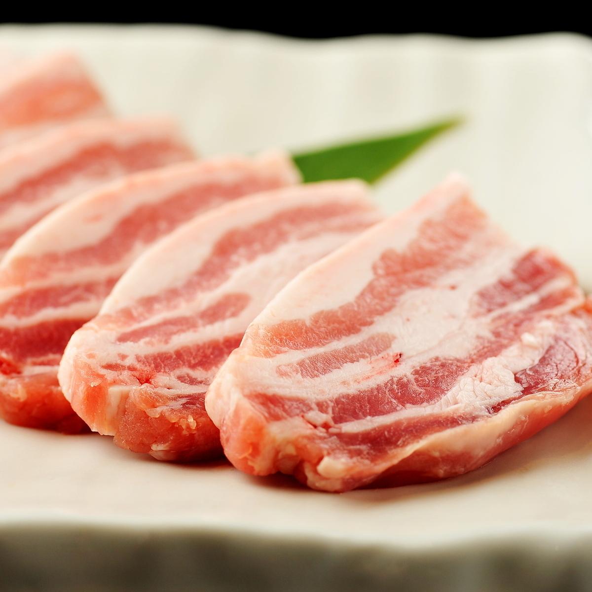 홋카이도 가미 후라노 산 돼지 / 갈비