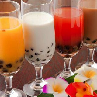 Various tapioca drinks of rice cake Pulpur ♪