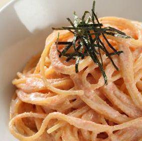 일본식 명란젓 파스타