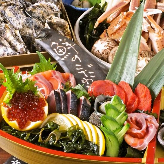 COSPA ◎ shops that you can enjoy the fresh sea foods full of stomachs at reasonable prices ♪