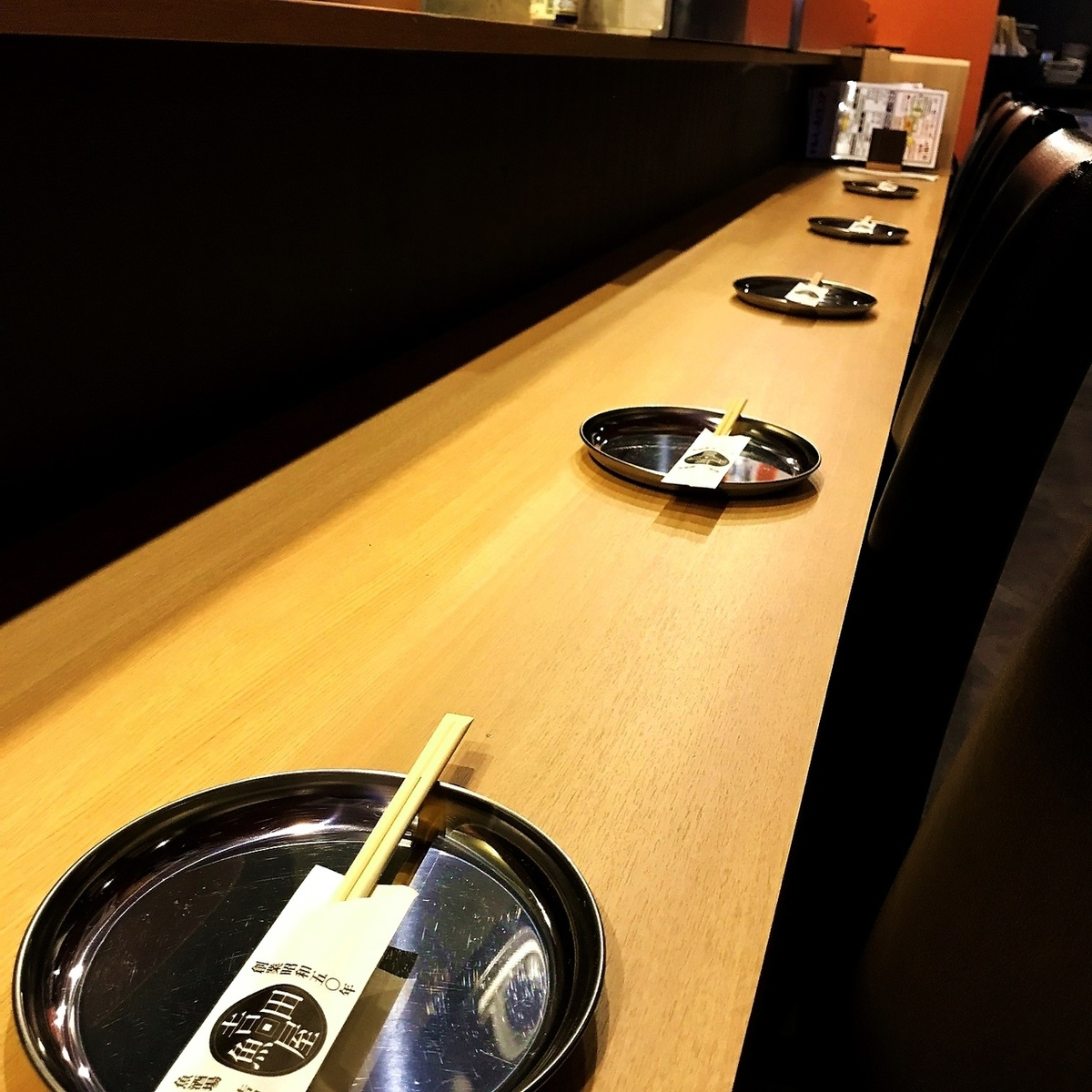 Recommended for open kitchen counter seat ◎ 1 person