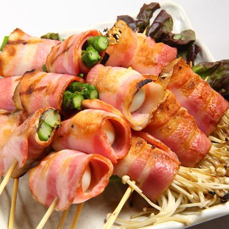 Various bacon windings