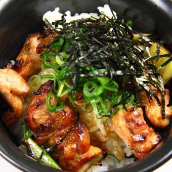 Torinosuke don / Bowl with rice