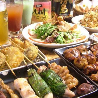 120 minute system · All you can eat 160 kinds of all you can eat 230 kinds of all you can drink 3500 yen ★