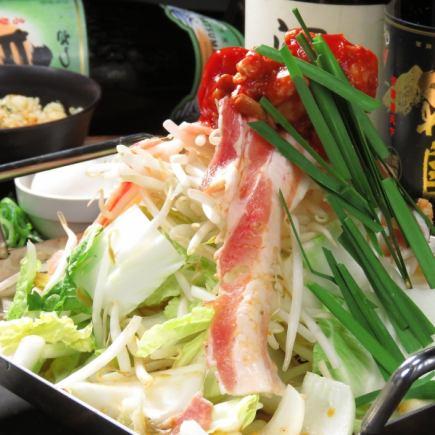 新的外观♪季节性的脆!3种类型的锅/食物你可以吃当然4500日元⇒4000日元★(含税)