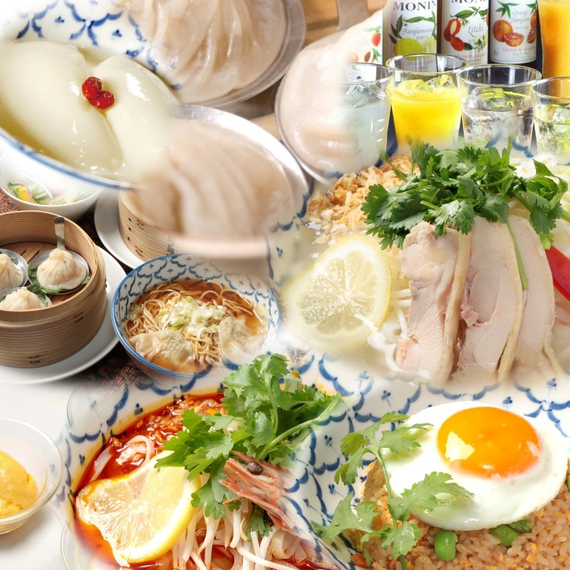 Please feel free to enjoy Asian cuisine ★