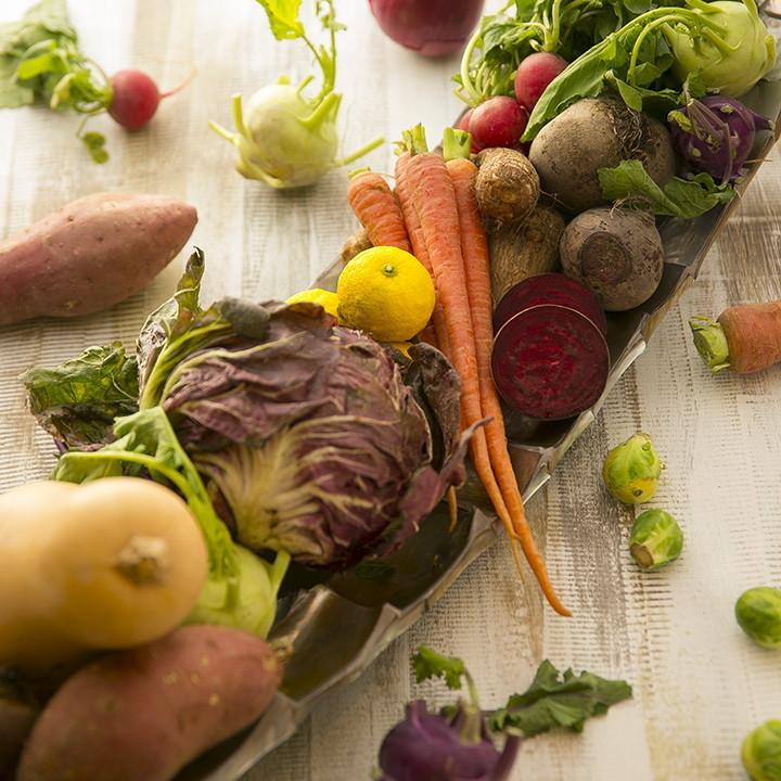 [今月のお野菜]季節を感じるお野菜が届いています!