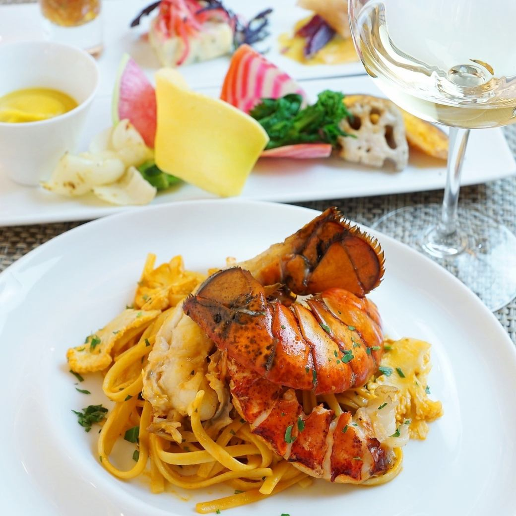 Large popularity! <Weekday Limited Lunch> Pasta of shrimp prawns ♪