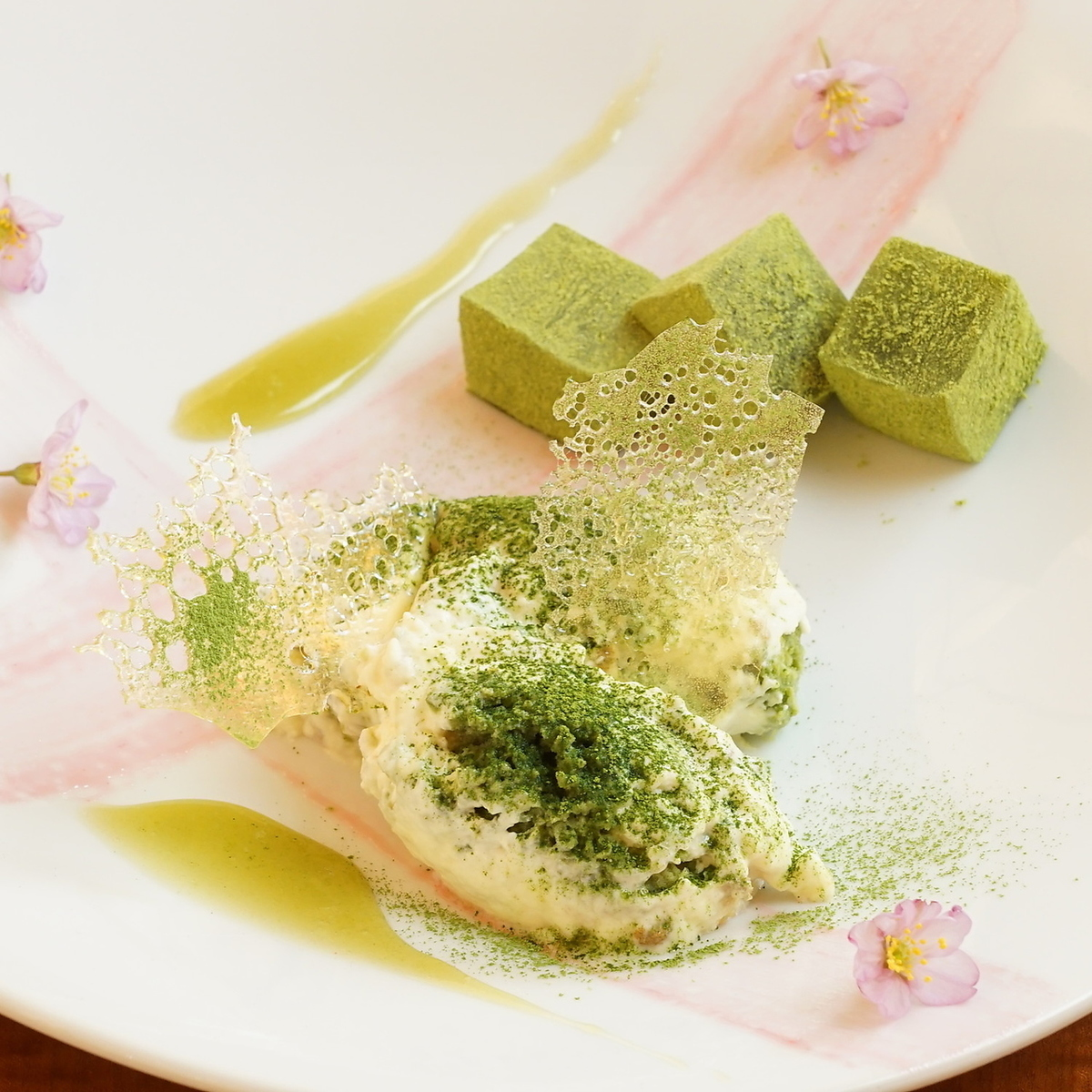 Soy tiramisu of Ise Matcha with carefully selected eggs from Mie Prefecture