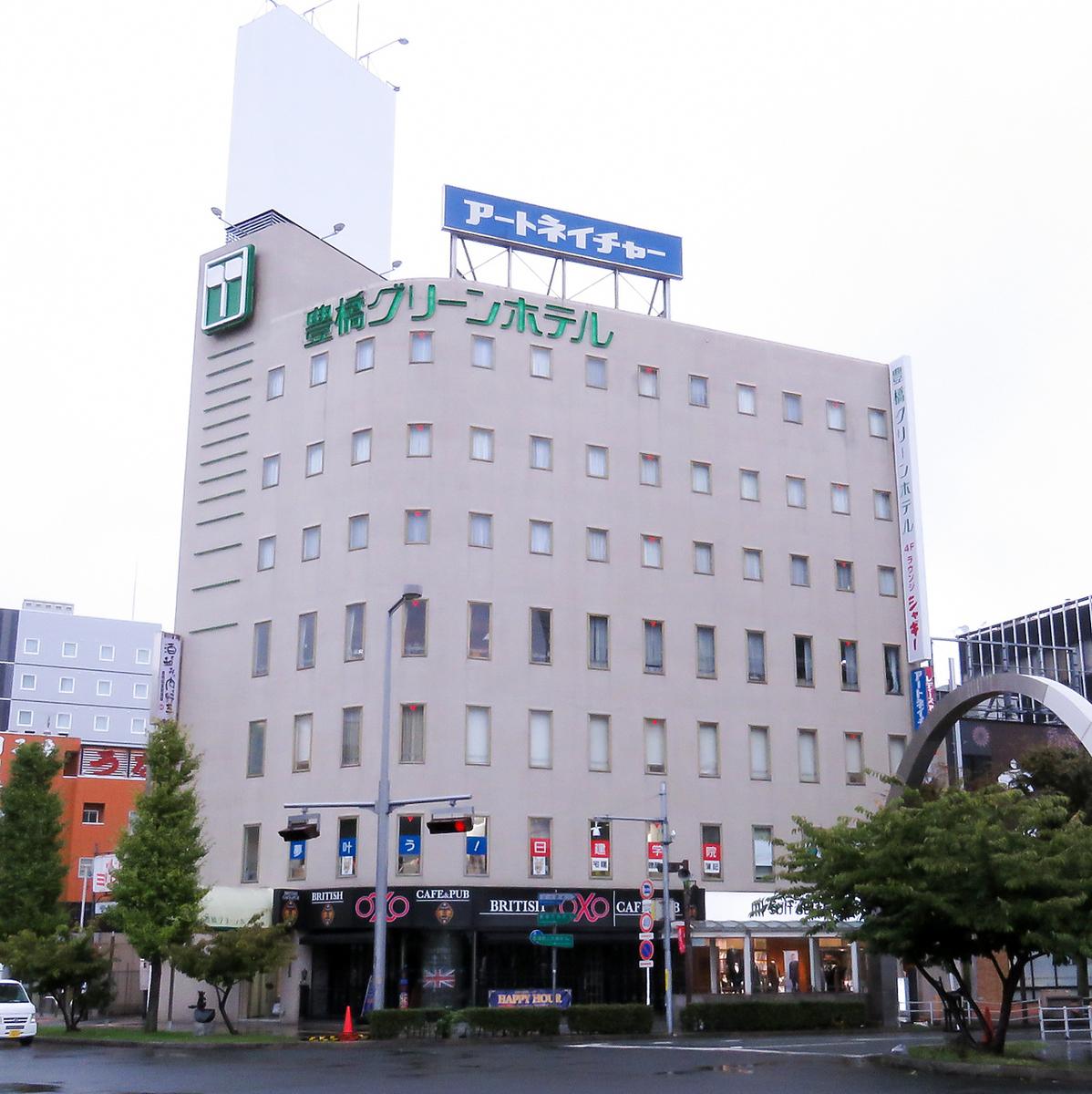 Toyohitetsu Atsumi Line新丰桥站2分钟步行/东洋东本本线站前站步行1分钟