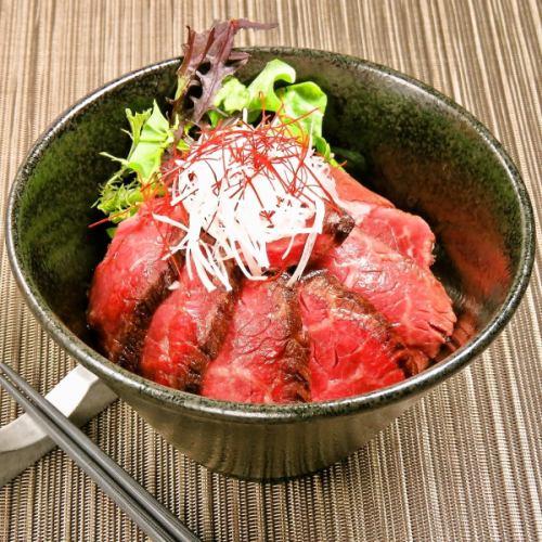 ランチ限定【赤身ステーキ丼S・M・L】