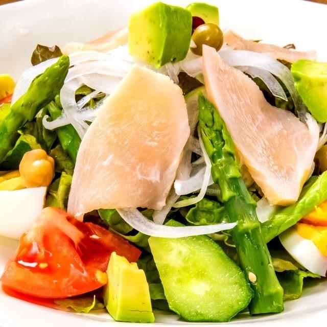 季節野菜のおやどサラダ