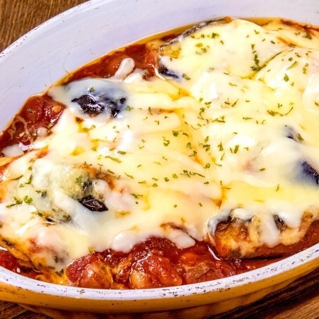 茄子とチーズのオーブン焼き