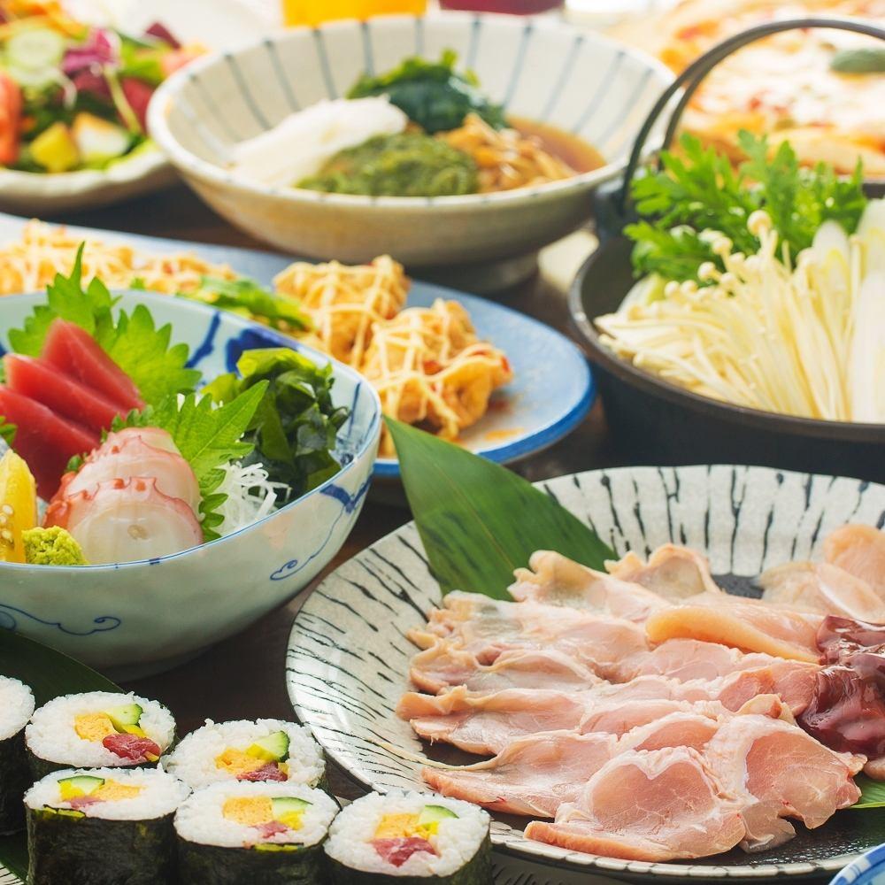 2100円~3000円台と幅広い価格の宴会コースをご用意!