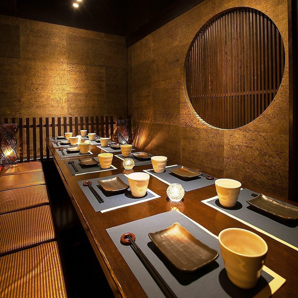 【私人房间×藏身处吧】活泼的鱼和鸡肉的cospa◎无限畅饮套餐当然是2980日元〜♪