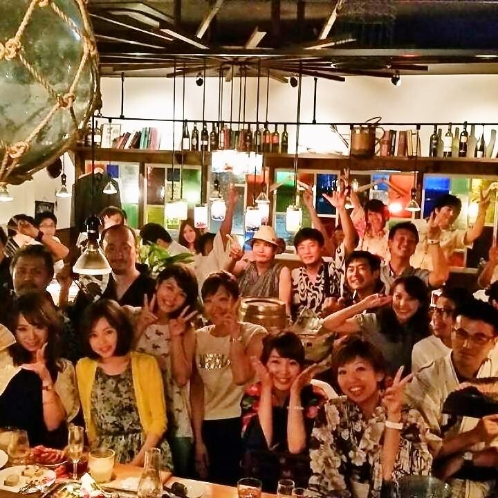 【ViVi 회 풍경 1] 마음이 맞는 동료와 단골 손님이 모이는 파티를 매월 개최하고 있습니다.