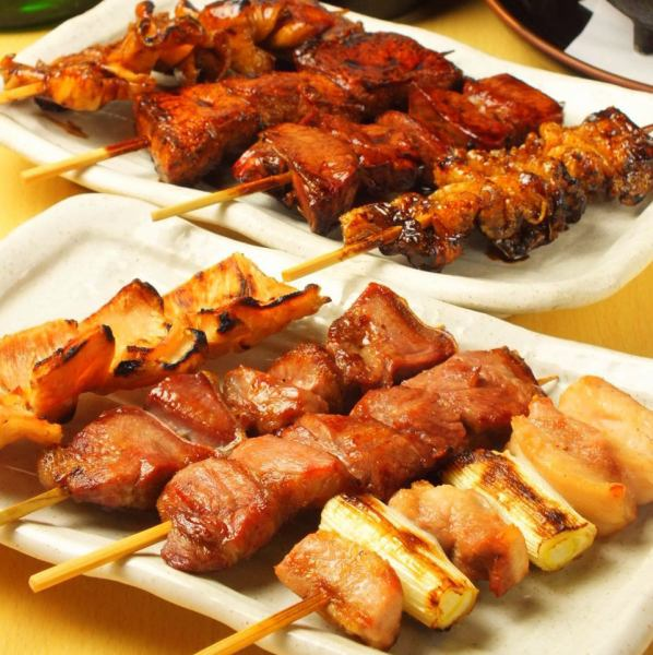"""Food commitment.Anyway I will be concerned about the taste ♪ """"delicious skewers and various baked items"""" with both texture and taste"""