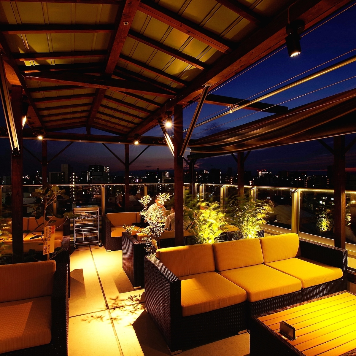 【Terrace seat to stimulate everyday life】 ♪ It is a space to fulfill such feelings ♪ ♪ party with a fashionable space a little different from usual