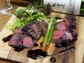 北海道産牛カイノミステーキ