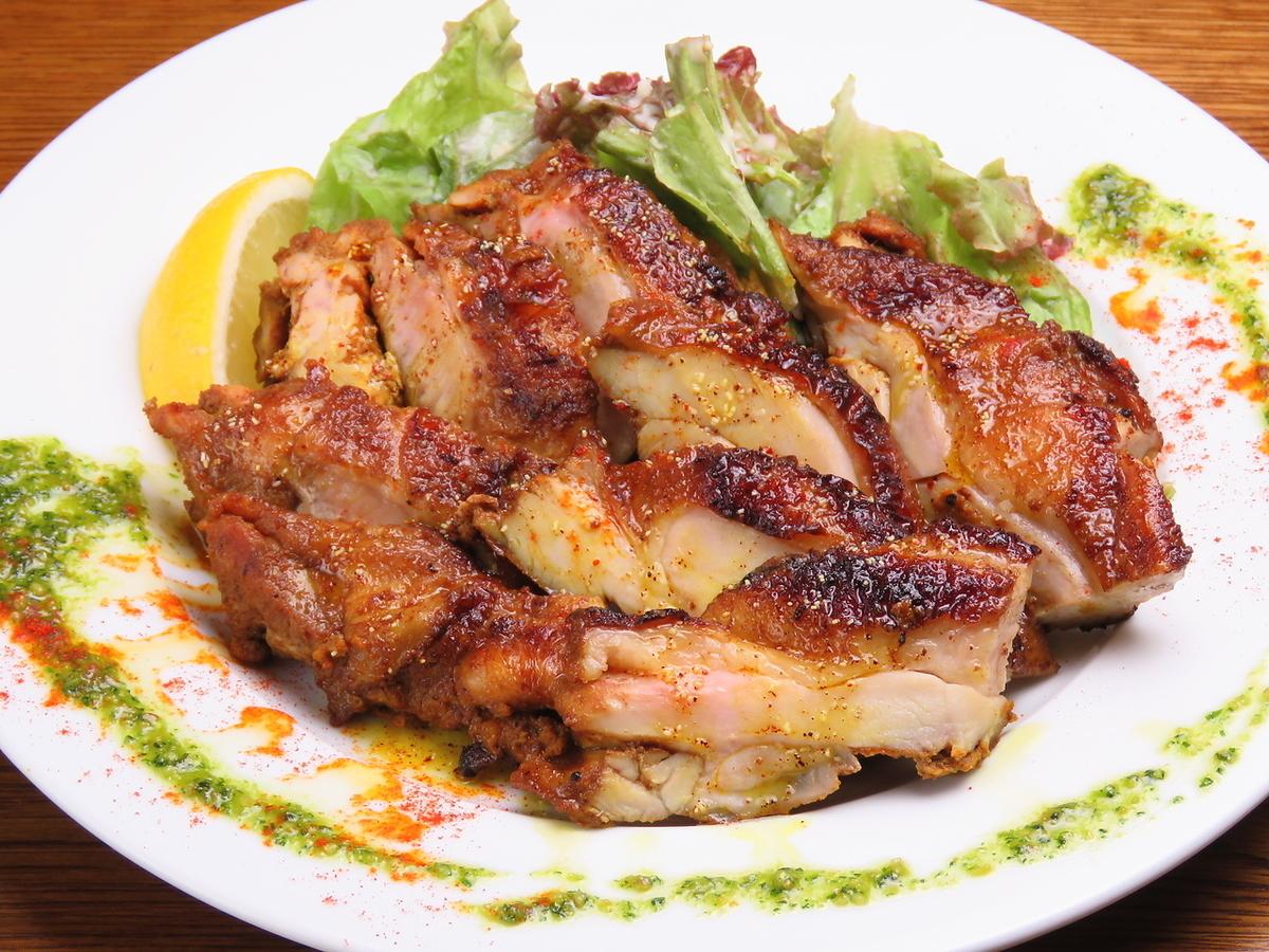 Grilled Shiretoko chicken