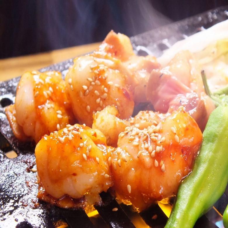 プリプリ牛ホルモン(味噌・塩)