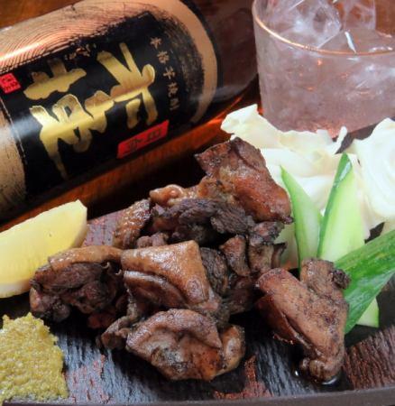 宮崎特產雞肉燒炭