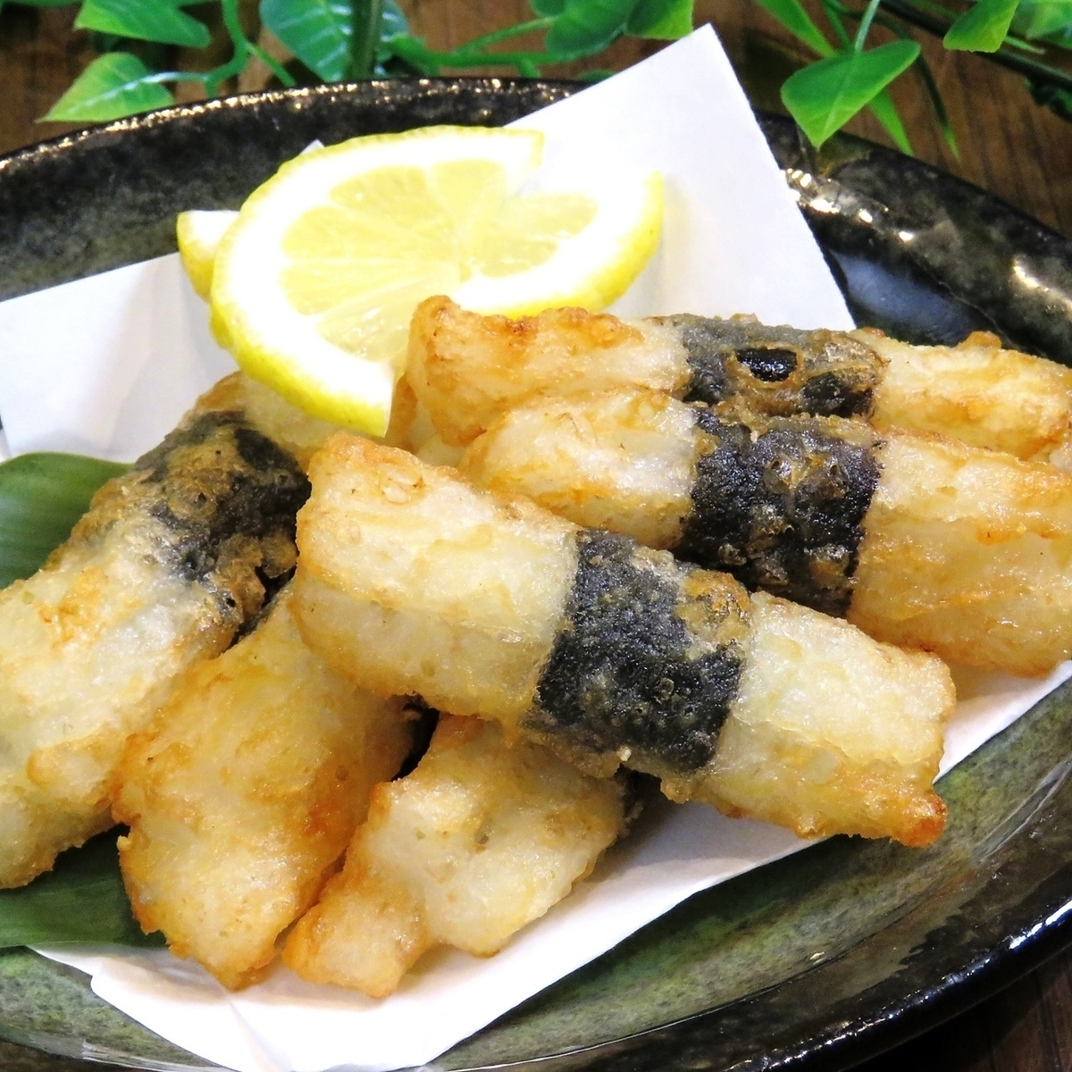 Deep-fried yam with yam