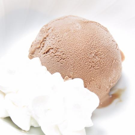 Chocolate ice