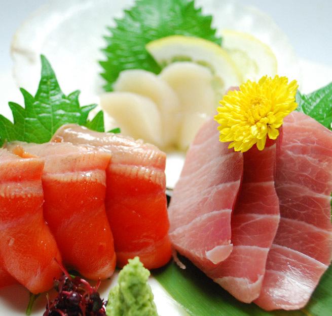 Today's sashimi 3 squares