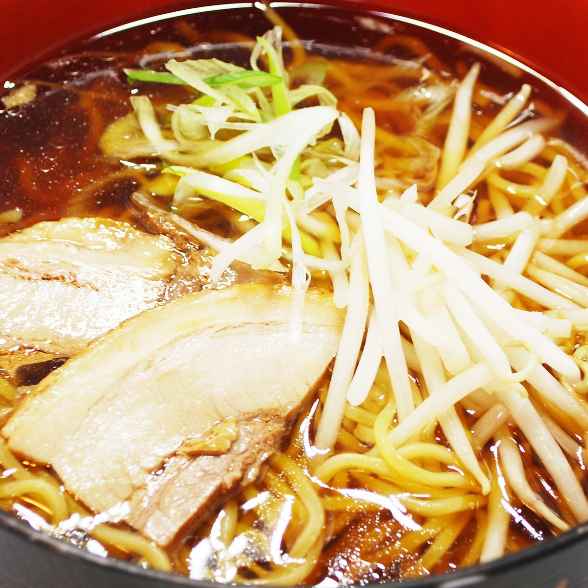 Soak soy sauce ramen