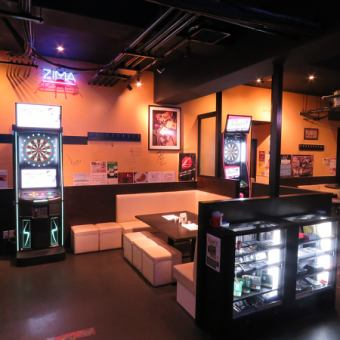 120 minutes All-you-can-drink darts free all-you-can-pay plan 2500 yen ☆