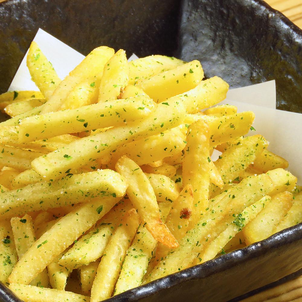 Grated starch potato fried / Takoyaki fried potato fried / soy sauce butter potato fried